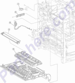 HP parts picture diagram for 40X0617