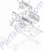 HP parts picture diagram for 40X1081