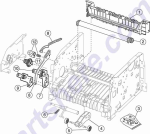 HP parts picture diagram for 40X1354