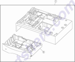 HP parts picture diagram for 40X2084