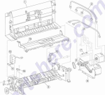 HP parts picture diagram for 40X2267