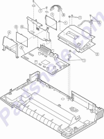 HP parts picture diagram for 40X2930