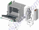 HP parts picture diagram for 40X5124