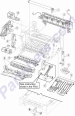 HP parts picture diagram for 40X5396