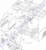 HP parts picture diagram for 56P1358