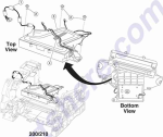 HP parts picture diagram for 56P1387