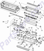 HP parts picture diagram for 56P1463