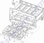 HP parts picture diagram for 56P1496