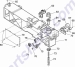 HP parts picture diagram for 99A0277