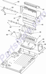 HP parts picture diagram for 99A1065