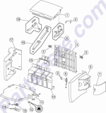 HP parts picture diagram for 99A2511