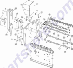 HP parts picture diagram for 99A2540