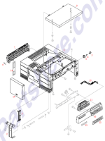 HP parts picture diagram for C2005-40018