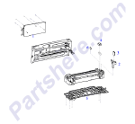 HP parts picture diagram for C2642-60205