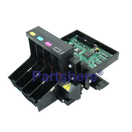 C2858-60023 - Pen carriage assembly - Drafting Head assembly (Holds the four ink cartridges)