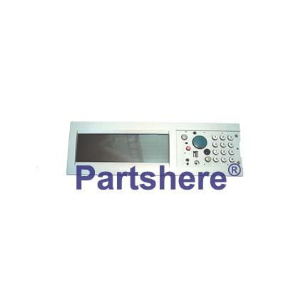 C4166-60102 - Front control panel assembly - LCD touch screen and complete control button panel - This is the control panel for the copier module only