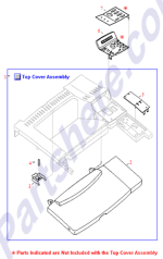 HP parts picture diagram for C4251-40024