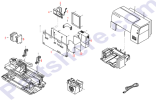 HP parts picture diagram for C4555-67810