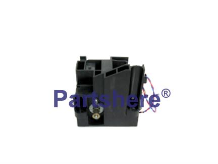 C4723-60277 - Carriage (Y-Axis) motor assembly - Drives carriage belt - Includes motor, motor holder, and cable