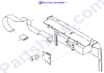HP parts picture diagram for C5374-00033