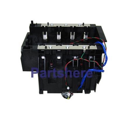 C7769-60373 - Ink Supply Station (ISS) - Includes ink pump motor, pump sensor, and out-of-ink sensors - Installed in right side of printer