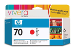 C9456A HP 70 Red Ink Cartridge -... and more HP Supplies