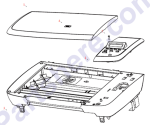 HP parts picture diagram for CB376-60101
