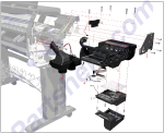 HP parts picture diagram for Q1273-60048