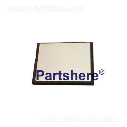 Q7725-67945 - 32MB compact flash memory card with version 08.051.7 firmware