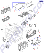HP parts picture diagram for RB1-6444-000CN
