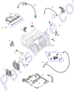 HP parts picture diagram for RB2-2400-000CN