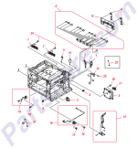 HP parts picture diagram for RC1-9332-000CN