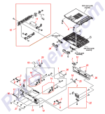 HP parts picture diagram for RC1-9620-000CN