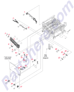 HP parts picture diagram for RC2-7209-000CN