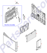 HP parts picture diagram for RF5-1645-000CN