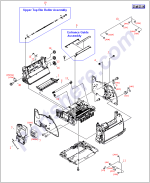 HP parts picture diagram for RF5-4040-020CN