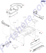 HP parts picture diagram for RG5-0469-020CN