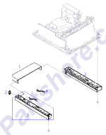 HP parts picture diagram for RG5-1446-000CN