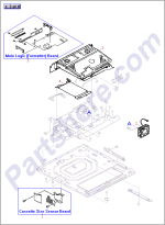 HP parts picture diagram for RG5-1560-060CN