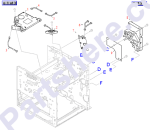 HP parts picture diagram for RG5-1926-000CN