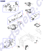 HP parts picture diagram for RG5-3309-000CN
