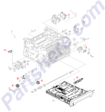 HP parts picture diagram for RK2-2731-000CN