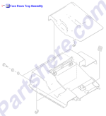 HP parts picture diagram for RM1-2180-000CN
