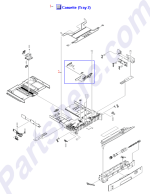 HP parts picture diagram for RM1-2479-040CN
