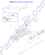 HP parts picture diagram for RM1-2625-000CN