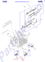 HP parts picture diagram for RM1-4245-000CN