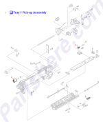 HP parts picture diagram for WG8-5210-000CN