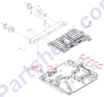 HP parts picture diagram for XB2-7400-606CN