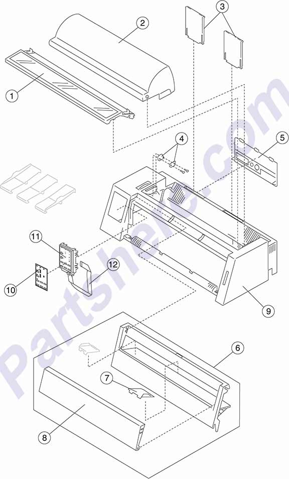 HP parts picture diagram for 40X3043, 40X3045, 40X3048, 40X3049, 40X3050, 40X3051, 40X3094, 40X3106, 40X3118, 40X3126, 40X3130, 40X3131
