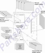 HP parts picture diagram for 40X2610